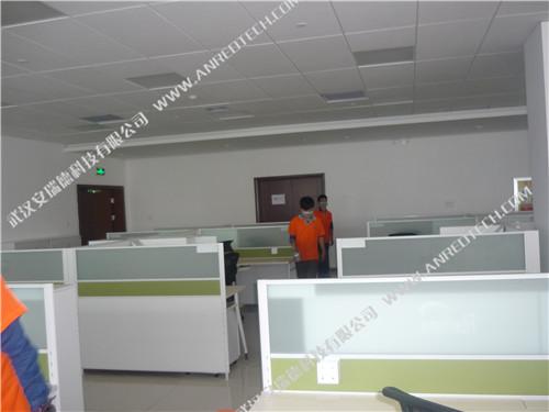 烽火集团办公楼室内空气治理和除甲醛,武汉除甲醛