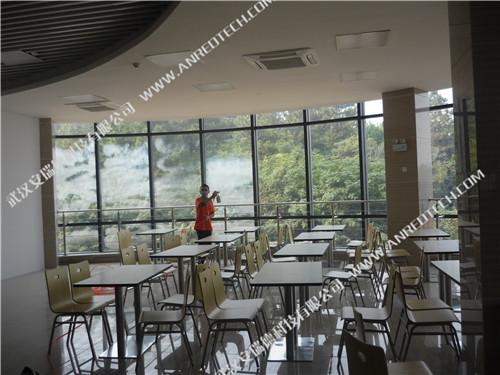 烽火集团餐厅室内空气治理和除醛,武汉除甲醛