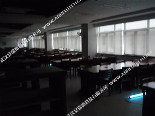 华中科技大学图书馆室甲醛治理和内空气治理项目――紫外线照射