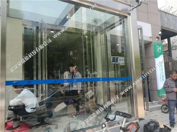 民生银行汉阳支行装修除甲醛案例